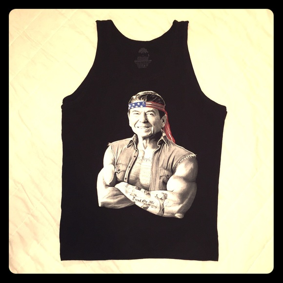 Other - Tank Top Muscle Shirt - Ronald ReaGUNS